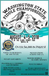 Washington State Fiddle Championship @ Clark County Fair | Ridgefield | Washington | United States