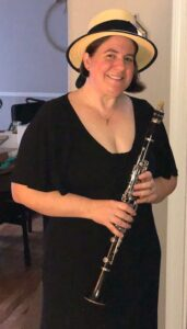 Katie Gotshall, Old TIme Clarinet player