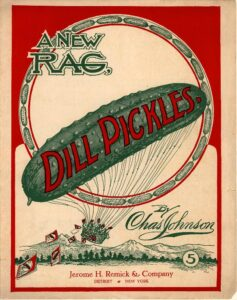 Dill Pickles - A New Rag original cover
