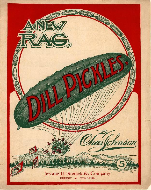 Dill Pickles - A New Rag original cover