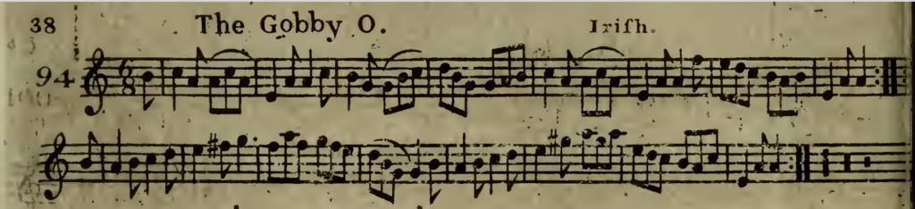 The Gobby O sheet music